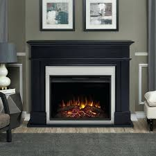 picture 1 of real flame electric fireplace cau white