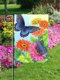Small Picture Smartness Design Small Garden Flag Holder Lovely Decoration
