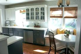 rare average cost to spray paint kitchen cabinets picture ideas