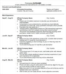 Easy To Read Resume Format Easy Resume Samples Easy Resume Examples