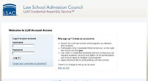 Access Llm Lsac Org Welcome To Llm Account Access Llm Lsac Org