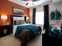 Blue And Orange Bedroom Ideas