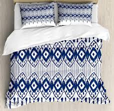 ikat duvet cover set asian traditional design borders tribal art geometrical motifs and shapes bedding set comforter cover queen bedding linen from