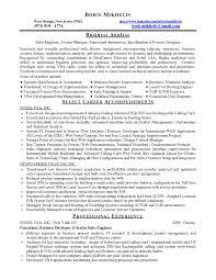 Sales Analyst Job Description Sample Resume Cover Letter Template