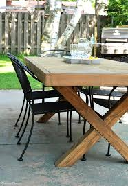x dining table base gorgeous picnic table base outdoor with x l on outdoor dining tables ideas x dining table base