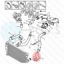 S original turboschlauch ladeluftschlauch für peugeot 806 221 2 0 hdi 0382q1