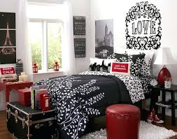 black and white bedroom decorating ideas. Red Black And White Decor Room Bedroom Decorating Ideas Entrancing Pictures Of