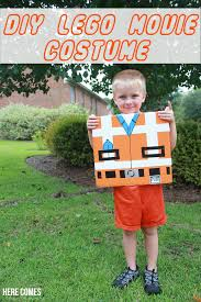 make awesome with this diy lego costume