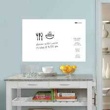 on removable wall art stickers uk with large plain dry erase wall art sticker with pen 90968