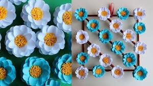 paper flower wall hanging paper daisy