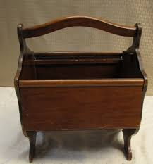 wooden chair side. QUAINT WOODEN CHAIR SIDE CADDY/ SEWING BOX Wooden Chair Side