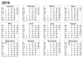 blank 2018 calendar blank 2019 calendar printable calendar yearly