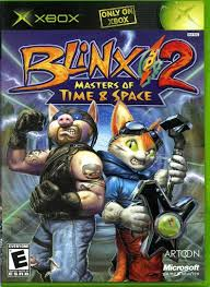 Video game:Microsoft Xbox Blinx 2: Master of <b>Time and Space</b> ...