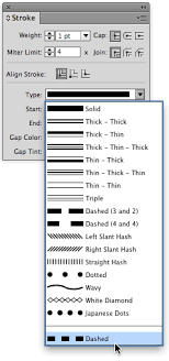 In modern professional western typesetting this is 2 ways you can underlines anything in indesign. Setting A Dash Stroke With Exact Gap And Dash Values In Indesign Creativepro Network