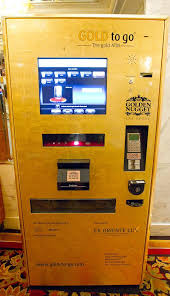 Gold To Go Vending Machine Gorgeous GOLD To Go ATM The World's First Gold Vending Machine Now At