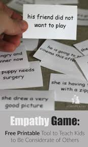best emotions activities ideas different empathy game a tool to teach kids to be considerate printable