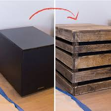 hiding a big home theater subwoofer with a diy end table