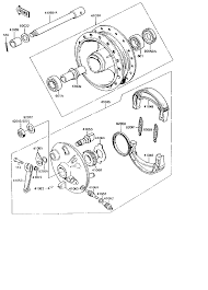 1994 kawasaki ke100 ke100b front hub parts best oem front hub rh bikebandit fuse panel