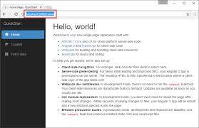Angular + ASP.NET Core Quick Start with .NET Core CLI – Coding Flow