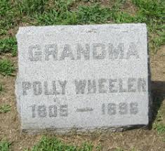 Polly Gilbert Wheeler (1805-1896) - Find A Grave Memorial