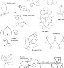 Hand Embroidery Patterns Simple More Small Hand Embroidery Patterns NeedlenThread