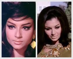 1960s cat eye makeup look