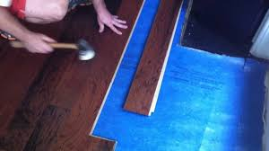how to install engineered hardwood flooring lock and fold