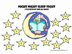 Free Printable Kids Sleep Chart Child Sleep Chart