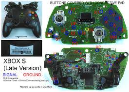original xbox controller wiring diagram wiring diagrams and joystick controller pcb and wiring