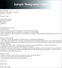Sample Resignation Letter 2 Weeks Notice Delectable My Resignation Letter Kievlive
