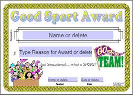 Merit Certificate Sample Best Sports Award Certificate Template Certificates For Teachers