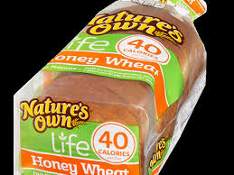 40 calorie honey wheat bread