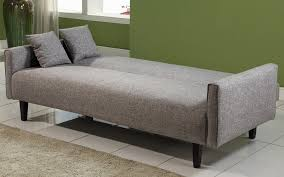 Amazing small sofa beds powerful grey fabric cheap sofa beds design  completed with small cushions for