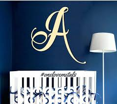 picturesque letters wall decor monogram wall decor metal inspirational letters gold letters metal letters monogram letters