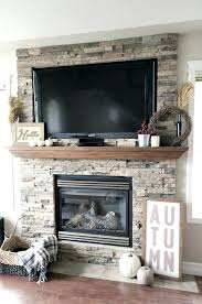 stone gas fireplace brilliant decorative stones photopoll for 25