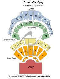 Opry Com Seating Chart Grand Ole Opry House Tickets In Nashville Tennessee Seating