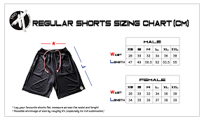 How To Create A Size Chart Sizing Chart Trio Ultimate