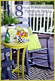 Outdoor Living Room Furniture For Your Patio 8 Ways To Perk Up Your Porch And Patio This Spring Stonegable