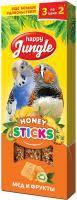 <b>HAPPY JUNGLE Палочки для</b> птиц мед+фрукты, 3 шт купить ...