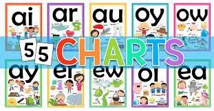 Phonics worksheets for kids including short vowel sounds and long vowel sounds for preschool and kindergarden. Free Vowel Charts Worksheets Printables