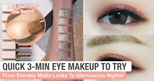 these easy 3 minute eye makeup tutorial will turn you into a pro in no