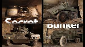 Underground Military Bases For Sale Secret Underground Bunker Is Full Of World War Weapons And