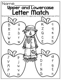 aed51b6f2059a2f77967cd61cbea1f9c upper and lowercase letter match! kinderland collaborative on worksheet for small alphabets
