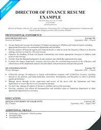 Sample Director Of Finance Resume – Isale