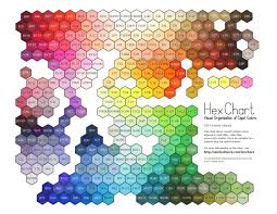 Copic Hex Chart Copic Marker Color Chart Copic Color