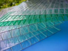 impact resistance greenhouse 6mm twin wall polycarbonate sheet with uv coated