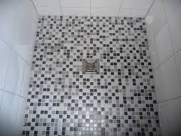 Syunpuu Com Mosaik Fliesen Dusche Verlegen Und Bad Grau Gefliest