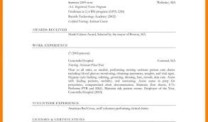 Free Professional Resume Examples And Cna Resume Samples Regarding