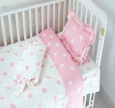 baby sheet sets 3 pcs baby bedding sets pink princess lace baby bed quilt cover cot