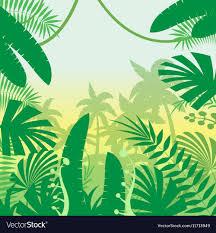 jungle background vector. Brilliant Jungle Jungle Flat Background Vector Image Inside Vector E